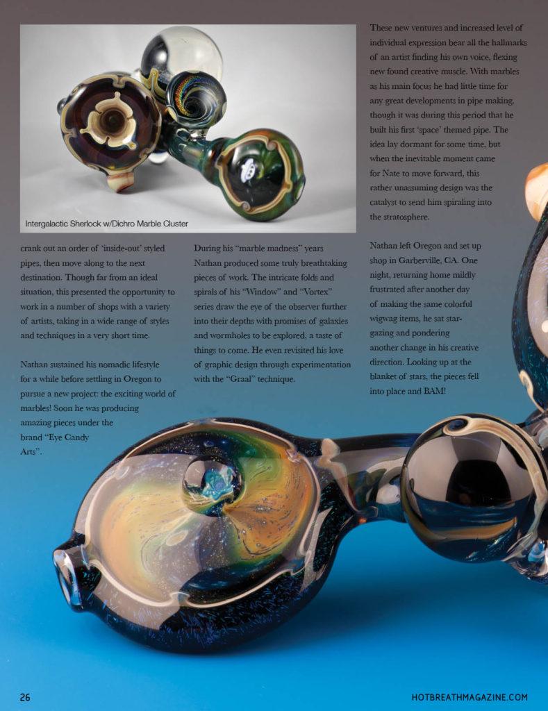 N8-Glass Artist Profile – Rob Dellenback Designs